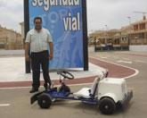El parque de Seguridad Vial amplía sus recursos con un Kart cedido por la Dirección General de Tráfico